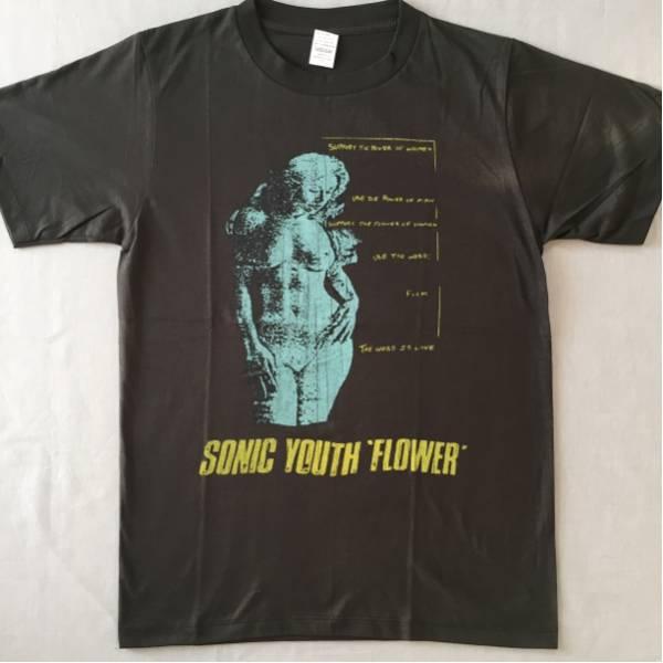 バンドTシャツ ソニック ユース(SONIC YOUTH)新品 L