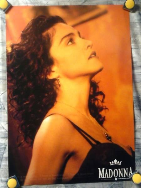 p2【ポスター/B-2】マドンナ-Madonna/非売品