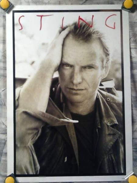 p5【ポスター/B-2】スティング-Sting/ポリス/非売品