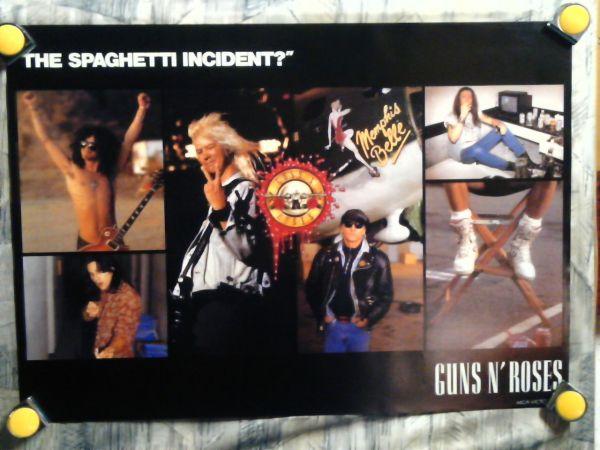 p1【ポスター/B-2】Guns N' Roses-ガンズ アンド ローゼズ/'93