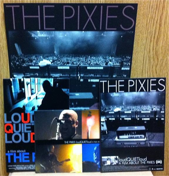 PIXIES 映画チラシ ポストカード3枚セット Number Girl BEYONDS Sonic Youth My Bloody Valentine Chapterhouse Slowdive