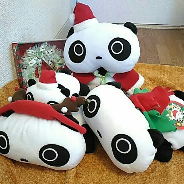 たれぱんだ ぬいぐるみ クリスマスセット グッズの画像