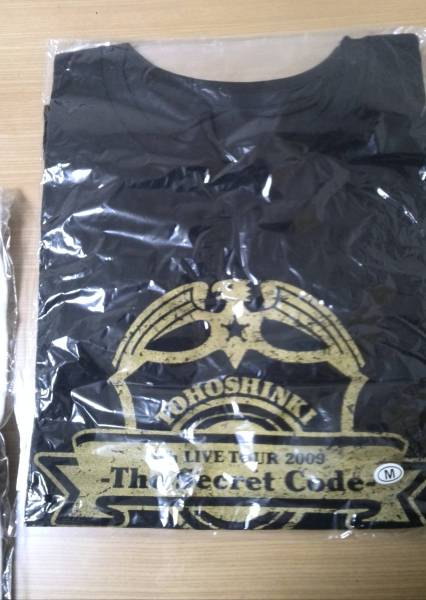 東方神起 4th Live Tour The Secret Code Tシャツ