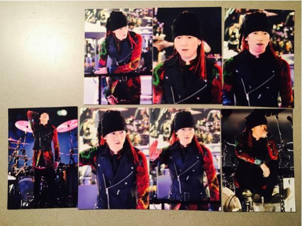 ラルク L'Arc~en~Ciel 2014 国立ライブ 生写真 yukihiro 7枚 ライブグッズの画像
