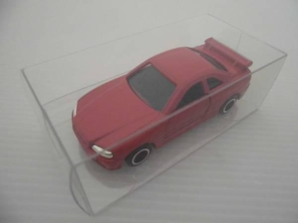 トミカ ミニカー 日産 スカイライン R34 GT-R レッド