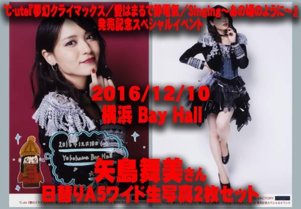【矢島舞美】日替り 12/10 夢幻クライマックス 横浜 写真 セット