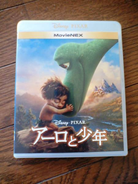ディズニー 【アーロと少年】 MovieNEX版映画DVD(即決)! ディズニーグッズの画像