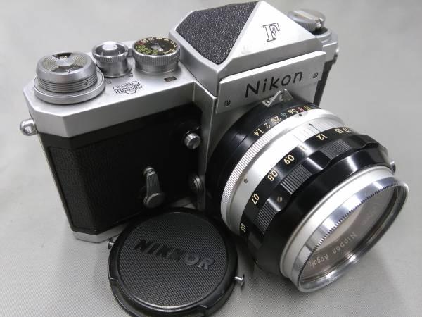★Nikon F 50mm F1.4 純正ケース 中古カメラ★