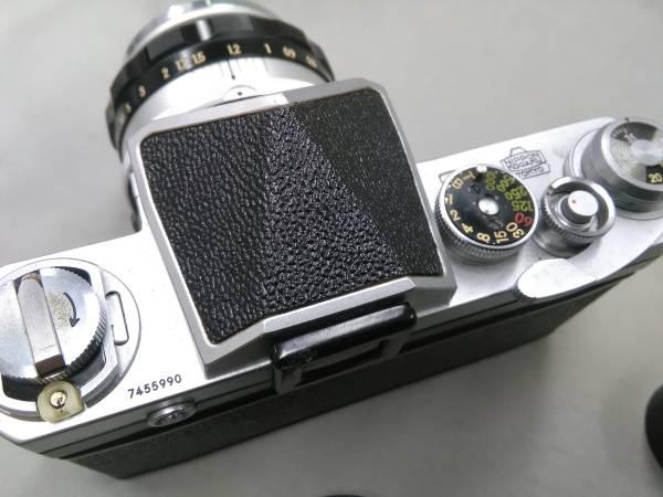 ★Nikon F 50mm F1.4 純正ケース 中古カメラ★_画像3