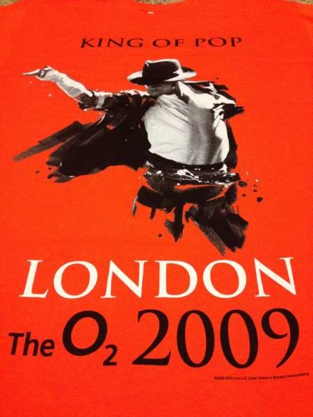 新品 マイケルジャクソン ロンドン公演 Tシャツ THIS IS IT L ライブグッズの画像