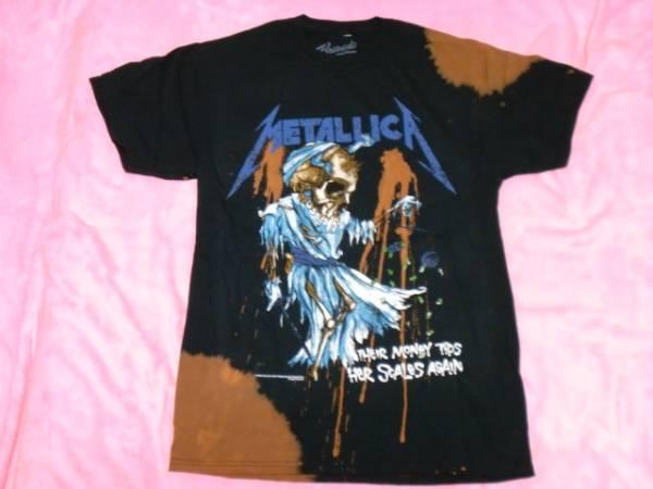 METALLICA メタリカ Tシャツ S バンドT ロックT Megadeth Slayer ライブグッズの画像