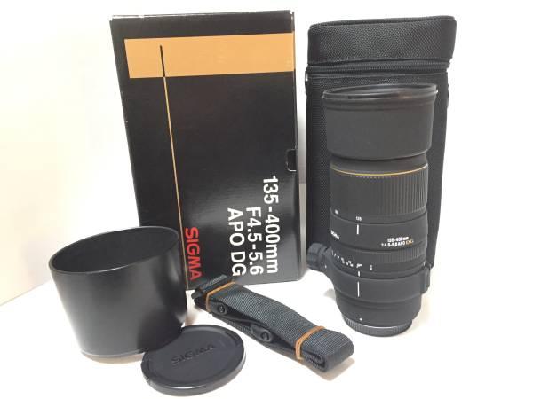 ★新品級★ SIGMA APO 135-400mm F4.5-5.6 DG フォーサーズ OLYMPUS ★付属充実品★2371