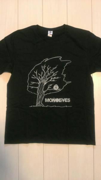 ★オフィシャル完売★MONOEYESクチ君TシャツB 黒・XL 未使用 ライブグッズの画像