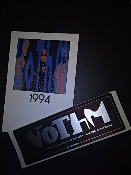 VoThM(渡辺英樹 C-C-B) ポストカード、ステッカー