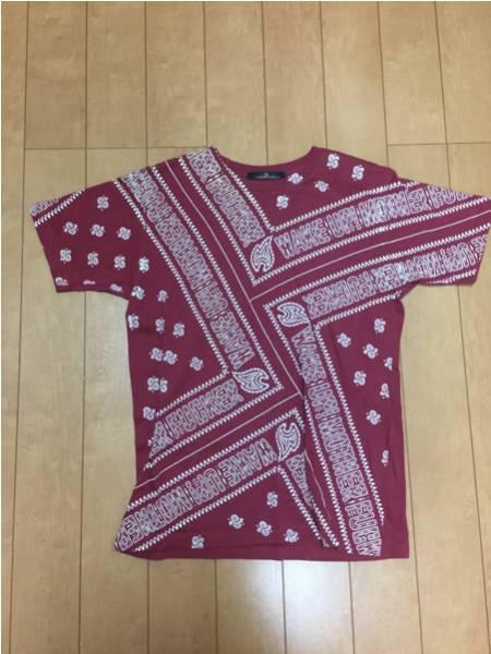 LUNA SEA J Tシャツ 赤 レッド