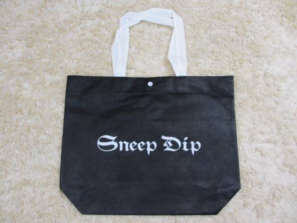 SneepDipスニープディップ福袋の袋BK黒ナイロンエコバッグ