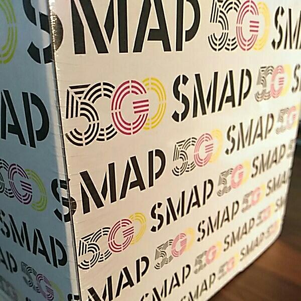 1円スタート激レア SMAP 50 GO SMAP -50 SINGLES新品未開封 バッグ付き_画像2