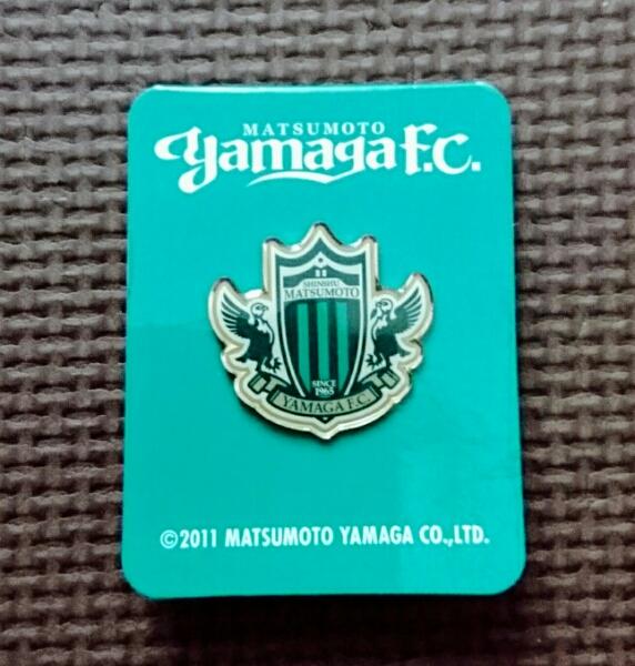 【2011年限定】松本山雅FC YAMAGA ピンバッチ サッカー