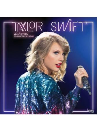 テイラースウィフトカレンダー2017 Taylor Swift ライブグッズの画像