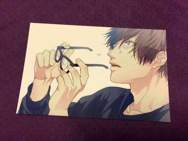 BLCDドラマCD「恋愛ルビの正しいふりかた」クラブメール特典ポストカード/おげれつたなか 非売品_画像1