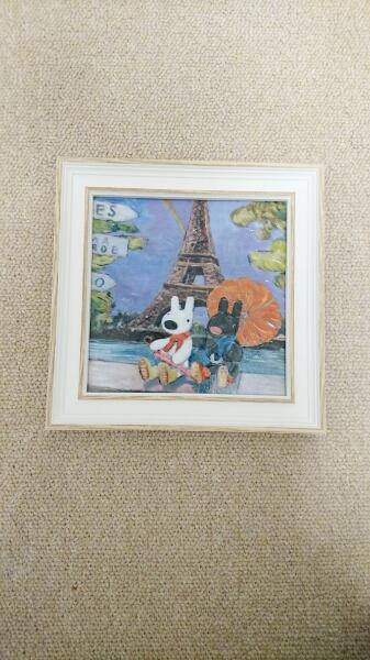 リサとガスパール*Paris*壁掛け グッズの画像