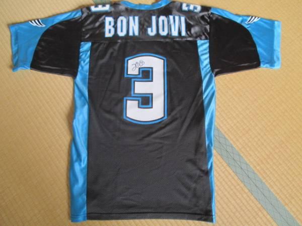 ジョン・ボン ジョヴィ Bon Jovi サイン入り レプリカジャージ