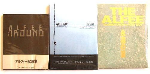 写真集★5冊★THE ALFEE アルフィー AROUND、LONG WAY~★おまけ