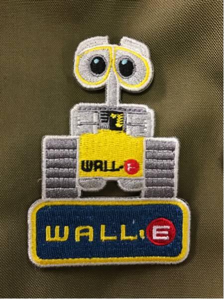 WALL-E ウォーリー パッチ/ワッペン ピクサー ディズニー ディズニーグッズの画像