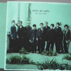 ♪即決「Give Me Love」Hey!Say!JUMP(通常盤)ポスターD付き♪