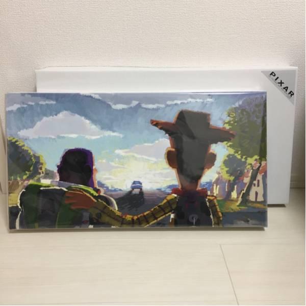 ピクサー展キャンバスアート グッバイアンディトイストーリー ディズニーグッズの画像