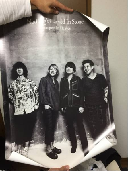 Nothing's Carved in Stone ポスター②