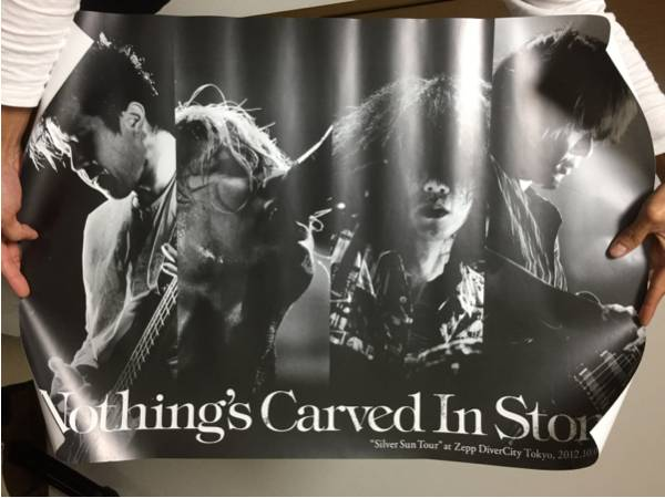 Nothing's Carved in Stone ポスター③