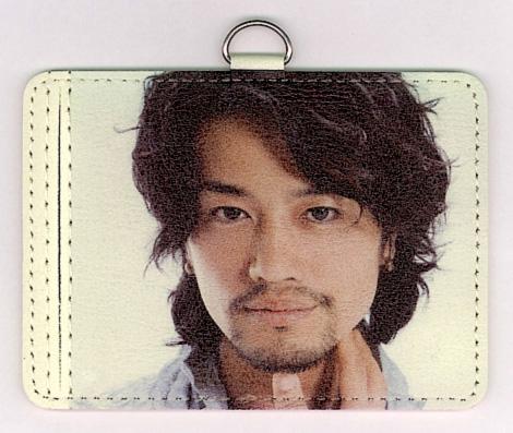 1点限り!★斎藤工 カードホルダー★ストラップ付き  No.1 昼顔