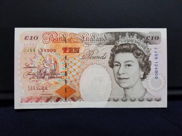 ☆イギリス10ポンド紙幣/1993年/チャールズ・ディケンズ/未使用_未使用