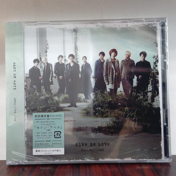 【新品、送料無料】Hey!Say!JUMP Give Me Love 初回限定 コンサートグッズの画像