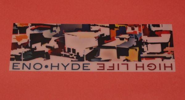 ENO・HYDE / High Life 栞 タワレコ特典 非売品