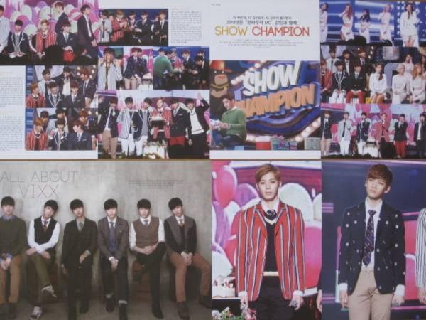 VIXX 2014年韓国雑誌切り抜き22ページ ライブグッズの画像