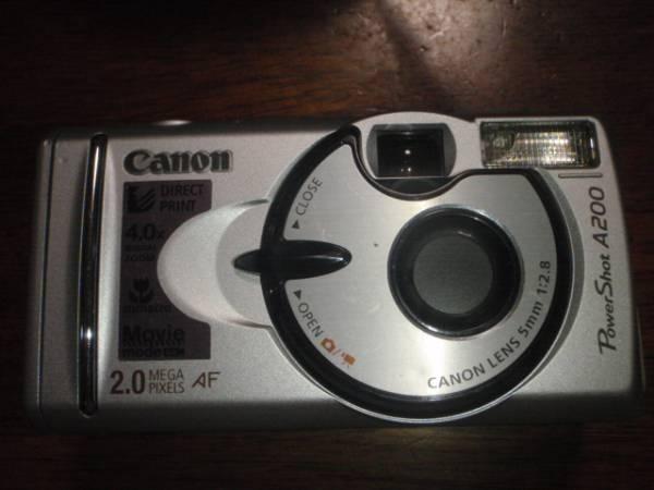 C004-17-3 Canon製デジカメ PowerShot A200