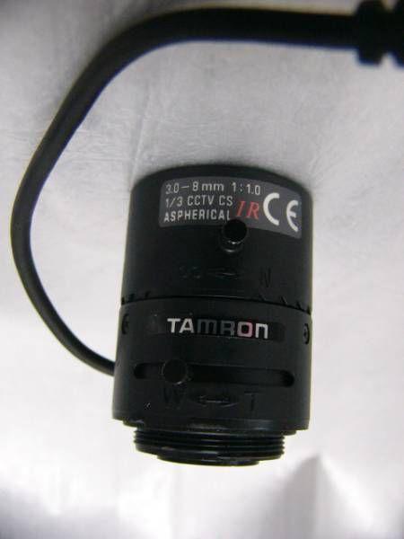 ★美品 TAMRON CSマウントズームレンズ 3-8mm 大口径F1.0 IR対応拍卖