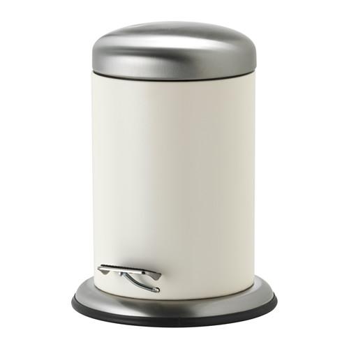 【即決】IKEA イケア ペダル式 ゴミ箱 ホワイト 902.849.33