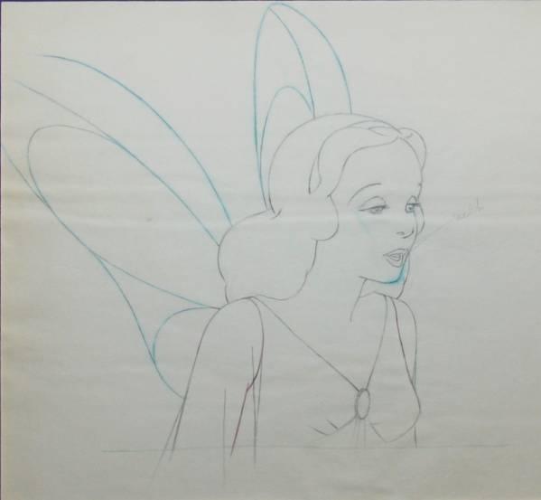 ディズニー ピノキオ ブルーフェアリー 原画 セル画 Disney ディズニーグッズの画像
