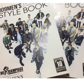 THE RAMPAGE 109Men's style book 2冊セット