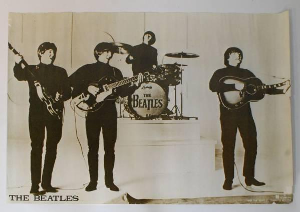 B2サイズポスター★ビートルズ★東芝EMI 1967 セピア調 BEATLES ライブグッズの画像