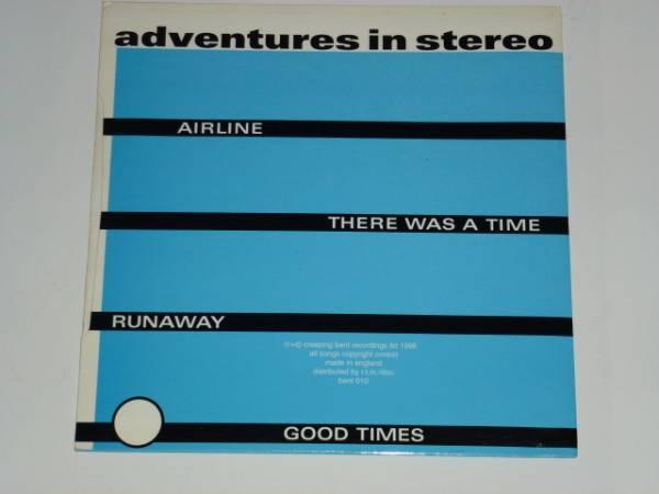 "7"" / ADVENTURES IN STEREO / AIRLINE / RUNAWAY / 1996年盤 / BENT010 / UK盤 / 試聴検査済み_画像2"