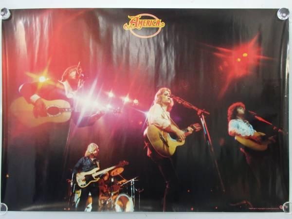 未使用 America LIVE ライブ盤 '77? アルバム特典 ポスター B2
