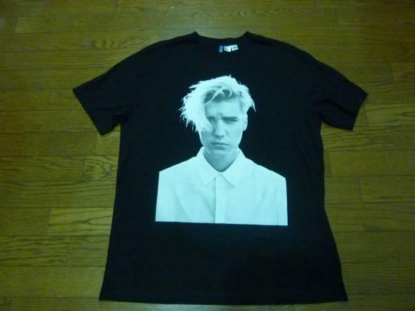 H&M justinbieber・ジャスティンビーバー・Tシャツ黒・Lサイズ ライブグッズの画像