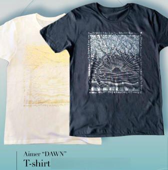 新品・未開封 会場 限定品 Aimer Live Tour 2015 DAWN Aimer 直筆 デザイン Tシャツ XL