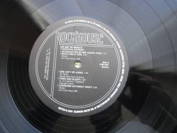 ★ LEVI THE ROCKATS LP オリジナル盤 ネオロカ サイコビリー ロックンロール パンク CLASH ALL sa レア盤 RANCID 666 ロカビリー_画像3