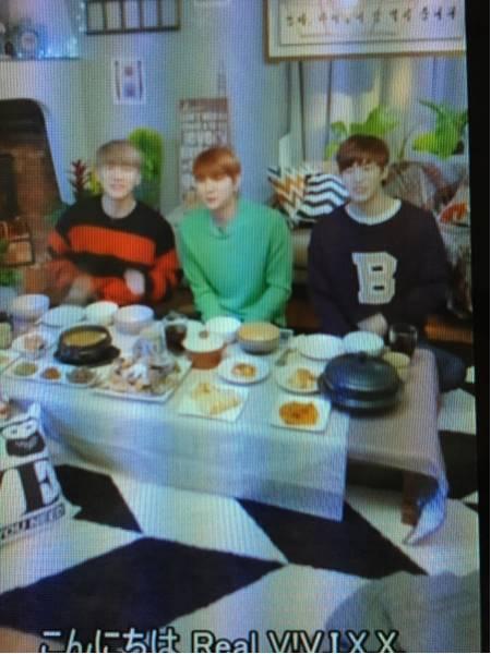 VIXX DVD 16.12.15 一緒に食べよう レーベル字幕有 V LIVE