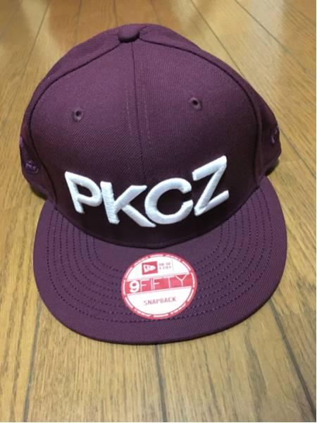 PKCZ スナップバックキャップ ワインレッド MAKIDAI